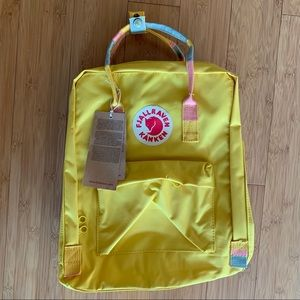 New with tags fjallraven kanken backpack
